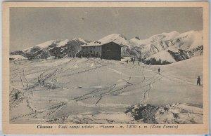 46022   CARTOLINA d'Epoca - BERGAMO provincia - CLUSONE 1945