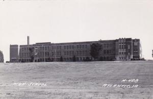 RP: ATLANTIC, Iowa, 1930-50s; High School