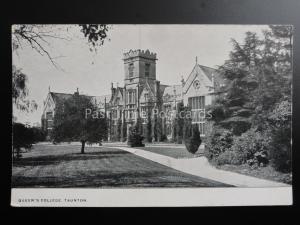 Somerset: Queen's College, Taunton c1906 - Old Postcard