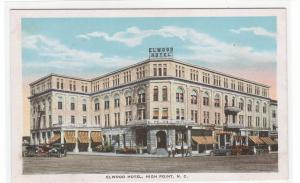 Elwood Hotel High Point North Carolina 1920s postcard