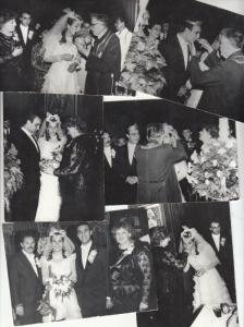 Lot 6 early photos social history romanian wedding snapshots groom bride priest