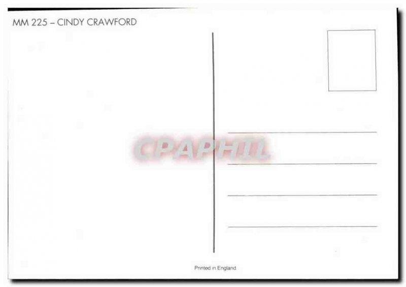 Postcard Modern Erotic Nude Female Cindy (Crawford)