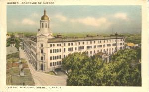 Quebec Academy - Quebec, Canada - Linen