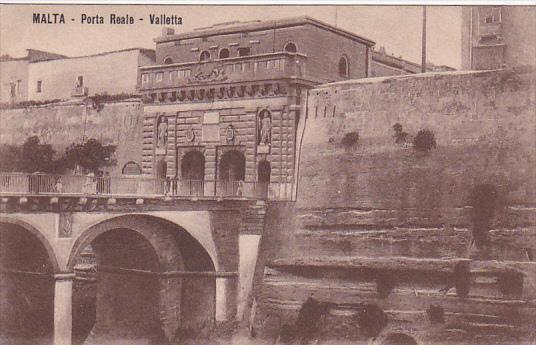 MALTA , 00-10s : Porta Reale - VALLETTA
