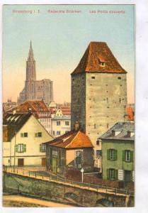 Strassburg i. E., Gedeckte Brucken, Les Ponts couverts, France, 00-10s