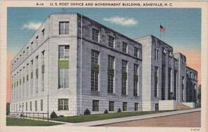 U S Post Office And Government Building Asheville North Carolina