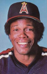 Baseball California Angels Rod Carew