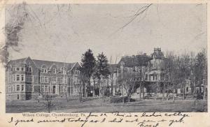 CHAMBERSBURG, Pennsylvania, PU-1907; Wilson College