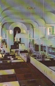 Rhode Island Newport Trinity Church Interior 1967