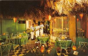 St Thomas Virgin Islands House of Palms Restaurant Interior Postcard J67830