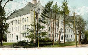 MA - Newtonville. Newton High School