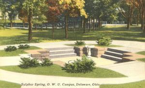 Sulphur Spring - Ohio Western University - Delaware, Ohio - Linen