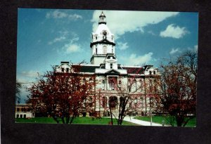 IN Parke County Court House Courthouse Indiana Postcard