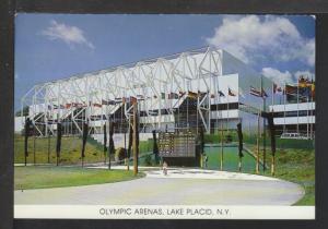 Olympics Arenas,Lake Placid Postcard