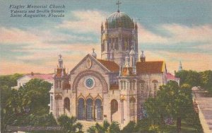 Florida Saint Augustine Flagler Memorial Church Valencia and Sevilla Streets