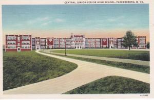 West Virginia Parkersburg Central Junior-Senior High School Curteich