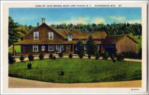 Home John Brown, Lake Placid NY