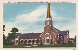 Mount Tabor Evangelical Lutheran Church 1000 B Avenue West Columbia South Car...