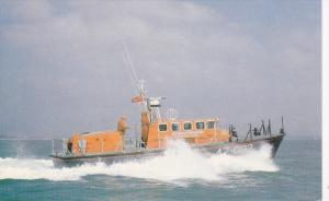Tyne Class Self-righting Lifeboat, in The Atlantic Ocean, 40-60´s