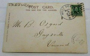 Vintage Postcard RPPC - 1906 Anything for me, Mr. Postman? No. 403 VERY RARE