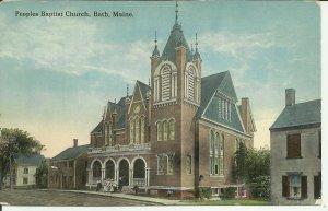 Peoples Baptist Church, Bath, Maine