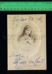 208063 RUSSIA USA MARIE VAN ZANDT Opera autograph photo