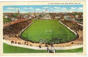 Erie Stadium From High School, Erie, Pennsylvania PU-1942