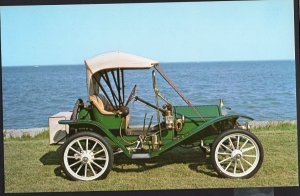 Classic Car Postcard 1910 HUPMOBILE 20 Runabout