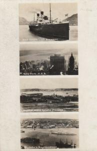 RP, ST John's , Newfouldland, 00-10s ; Red Cross ship, NYC, Halifax