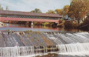 Covered Bridge - Ashuelot River - West Swanzey NH, New Hampshire