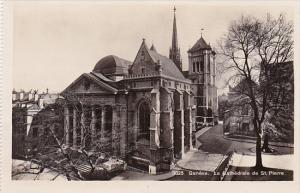 Switzerland Geneve La Cathedrale de St Pierre Photo