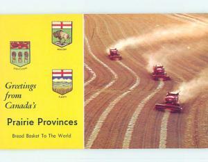 Unused Pre-1980 TOWN VIEW SCENE Prairie Provinces - Ab & Sk & Mb SK p8529