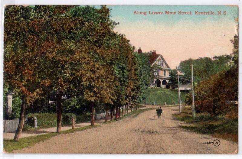 Lower Main St. Kentville NS