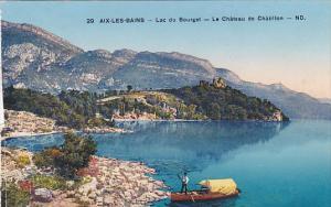 France Aix-les-Bains Lac du Bourget Le Chateau de Chatillon