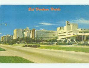 Pre-1980 BAL MORAL & IVANHOE & KENILWORTH HOTEL Miami Beach Florida FL HQ0790