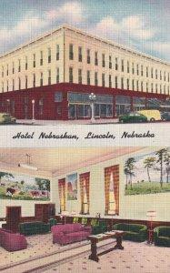 LINCOLN, Nebraska, 1930-1940's; Hotel Nebraskan
