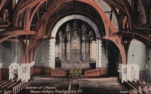 POUGHKEEPSIE, New York, PU-1911; Interior Of Chapel, Vassar College