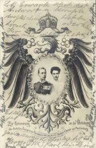 Crown Prince Wilhelm of Prussia & Duchess Cecilie of Mecklenburg-Schwerin (1904)