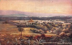 Burma Myanmar The 450 Pagodas Containing the Tables of The Law Mandalay Postcard