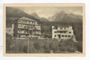 RP  Vysoke Tatry - Horny Smokovec. Pension Hamalcik a Miramonti, PU 1947
