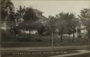 Rochester MN Zumbro Street Home c1910 Real Photo Postcard