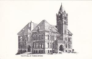 City Hall , ST. THOMAS , Ontario , Canada , 50-60s