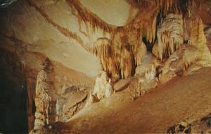 Tuckaleechee Caverns Townsend TN Tenn Fairyland In The Big Room Postcard D15