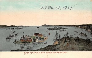 br105557 brids eye view of 1000 islands brockville ontario canada