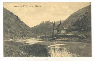 L'Our Et Le Chateau, Vianden, Luxembourg, 1900-1910s