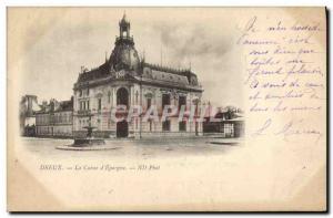 Old Postcard Dreux Bank Caisse d & # 39Epargne