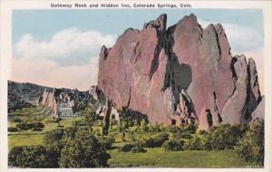 Colorado Colorado Springs Gateway Rock and Hidden Inn