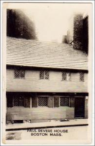Paul Revere House, Boston Mass