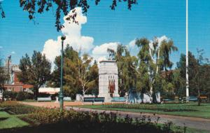 Cenotaph Honoring Canada´s War Dead, Central Park, CALGARY, Alberta, Canada,...