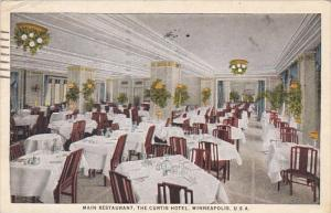 Minnesota Minneapolis Main Restaurant Interior The Curtis Hotel 1926 Curteich